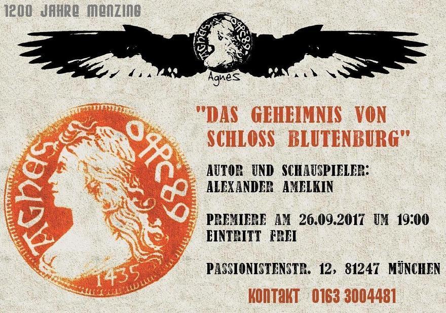 DAS GEHEIMNIS VON SCHLOSS BLUTENBURG, www.amelkin.de/yb.html